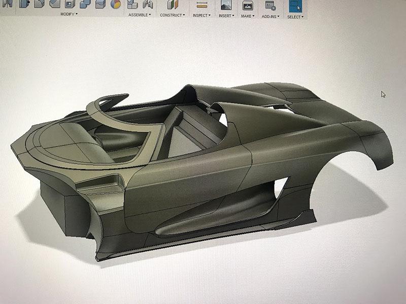 The 3D-printed Koenigsegg Agera RS – Depronized